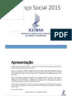 Balanço Social 2015 Icetran