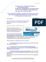 Risk Compliance News Events