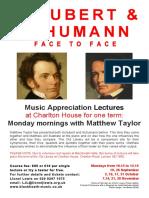 Schubert Schumann Face to Face