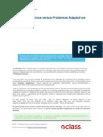 3. Problemas Tecnicos Versus Problemas Adaptativos
