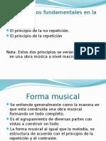 Formas Musicales Diapositivas