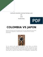 Colombia vs Japon