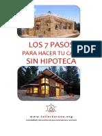 Los 7 Pasos Para Hacer Tu Casa Sin Hipoteca