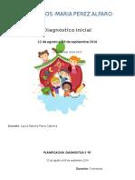 Planificacion Diagnostica 3 Grado Ciclo 2016