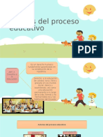 Actores Del Proceso Educativo