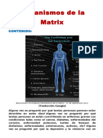 Mecanismos de la matriz