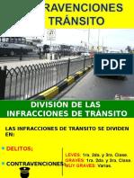 CONTRAVENCIONES DE TRÁNSITO.ppt