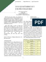 INFORME DE MICROPROCESADORES Y CODIGOS DE SEGURIDAD