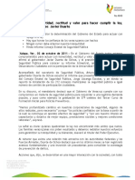 02 10 2011 - El gobernador Javier Duarte de Ochoa presidió el Consejo Estatal de Seguridad Pública.