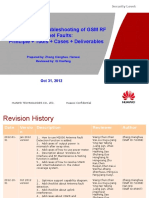 1 Detection and Troubleshooting of GSM RF Tunnel Faults:Principle + Tools + Cases + Deliverables 20121031