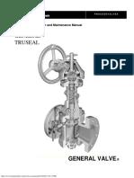 General Tru-Seal Valve Operation & Maintenance Manual