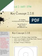 Key - Concept - 2.2.II - 2016