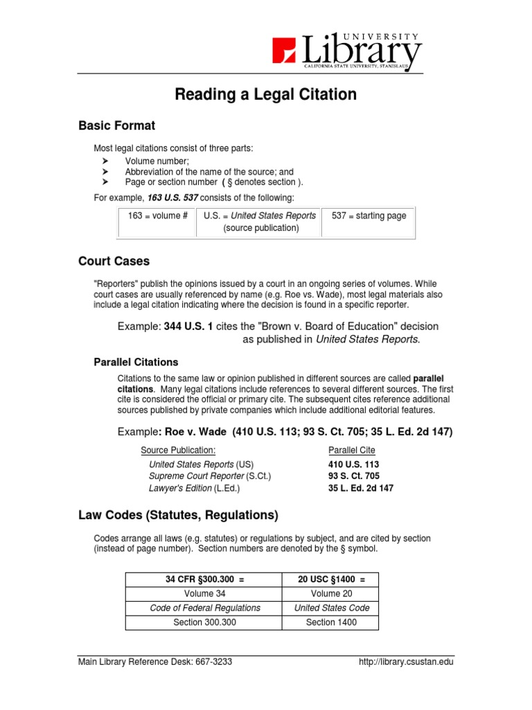 legal citation example