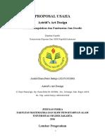 Proposal Kwu_astrid's Art Design
