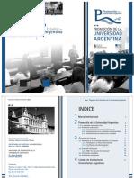 Libro Promocion de la Universidad Argentina