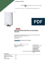 Boiler Electric Neptun Lu
