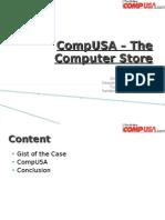 CompUSA- The Computer Store