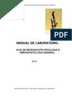 Manual Laboratorio de Patologia General.