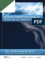 Desafíos energéticos desde las Ciencias Sociales