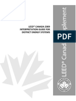 LEED Canada 2009 Interpretation Guide for District