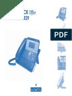 Guide d Utilisateur Alcatel OmniPCX Office 4028/4029