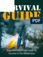 Hiking – Camping – Bushcraft Survival Guide