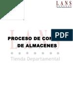 Proceso de Control de Almacen Lans