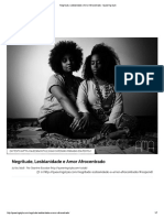 Negritude Lesbianidade e Amor Afrocentrado