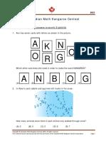 math kangaroo practice problems grades 1 8