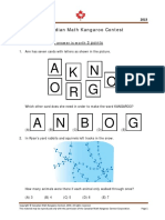 Math Kangaroo Grade 1-2 Questions