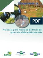 Protocolo Para Medição de Gases de Efeito Estufa Do Solo