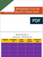 Panduan Menjawab Soalan Bahasa Melayu Penulisan