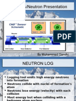 Neutron porosity