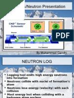Neutron porosity