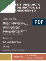 Analisis Urbano a Nivel de Sector de Planeamiento