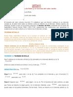 Cap 3, Sec 3.2, Teorema de Rolle y v.m