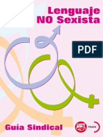 Guía Sindical de Lenguaje No Sexista