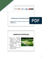 TEMA 2.8 Humedales Artificiales