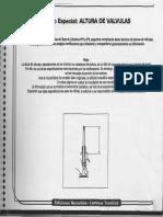 Manual Tecnico Altura de Valvulas