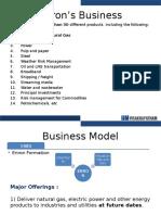 Enron Business & Financial Model