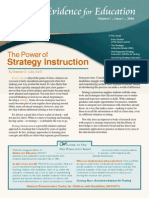 Power of Strategy Instruction