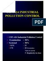 Introduction to Industrial Pollution Abatement