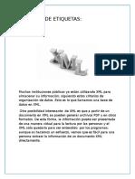 Lenguaje de Etiquetas XML