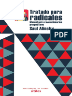 Alinsky, Tratado Para Radicales. Manual Para Revolucionarios Pragmáticos