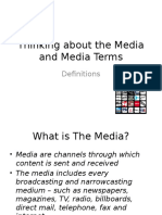 Thinking about the Media and Media Terms.pptx
