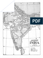 Map of Vedic India