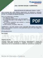 Aplicação Prática _Gestao Social e Ambiental