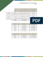 Cronograma de Actividades Medicina2