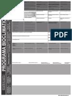 Programa Bioclimatico
