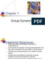 CHAPTER 7-Group Dynamics(2)